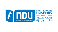 Logo NDU Notre Dame University, Louaize, Lebanon